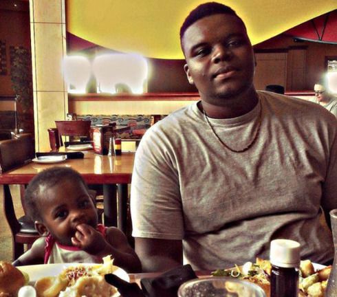 prodigalpen:    RIP Mike Brown. His momma said she didn't want anymore pics of him laying dead on the street so she shared pics of him as she knew him. This is one…