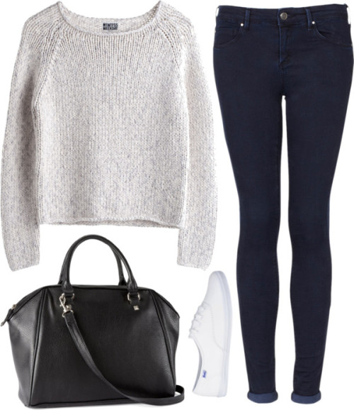 whattwowear:  Untitled #419 by lovelyfashionstuff featuring topshop