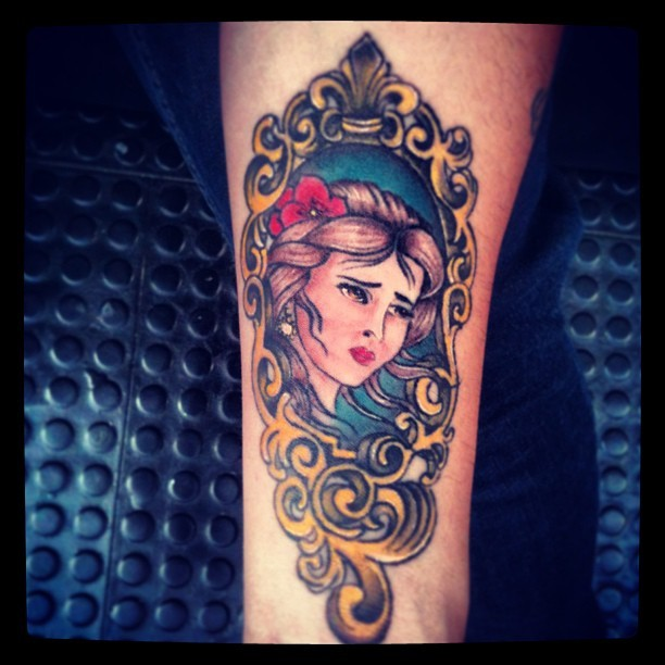Tattoo by  eddfrancois my MOM (en Rebel house Tattoo)