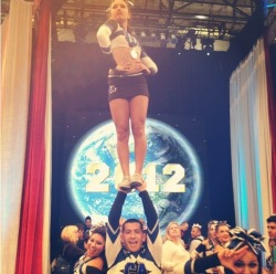 cheer-is-the-way:  Lauren & Michaeleddie at Worlds last year