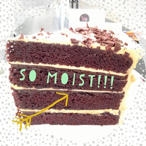 ZOMG!!! one of the best CHocoLaTe Cake  i've eaten!!!! #chocolatecake #moist #yums #yummy #food #foodgram #foodie #sweets #dessert #thefabulousbakerboys #thefoothills #fortcanning #sg #prebirthdaycelebration #happyday  #latergram #ABeautifulMess (at TheFabulousBakerboy)