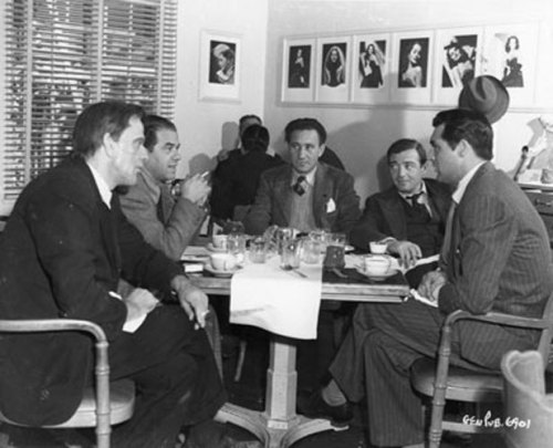 Meeting during 'Arsenic And Old Lace'