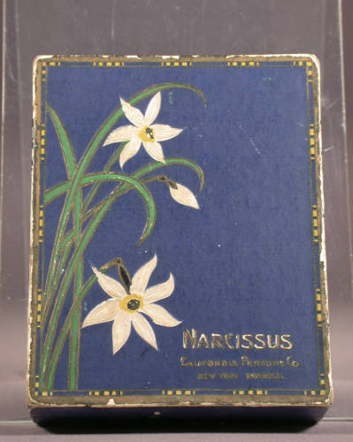 Avon Narcissus Perfume Box (1924)  Click here to view the item in the Digital Archives.
