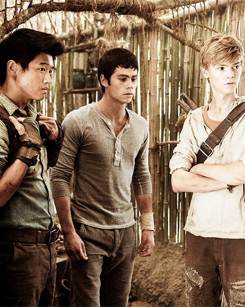 The mighty Gladers, back together again.