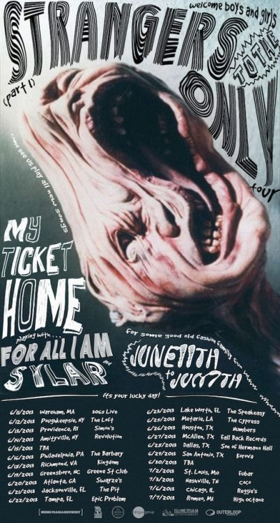 My Ticket Home announces a summer tour with For All I Am and Sylar.