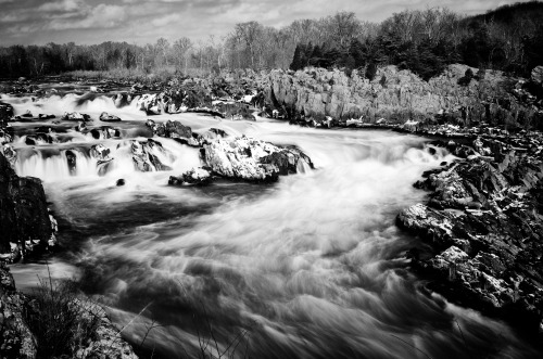 Great Falls National Park, Virginia. January 26th, 2013.