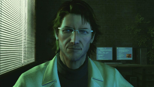 caosmosi:  otacon is really handsome