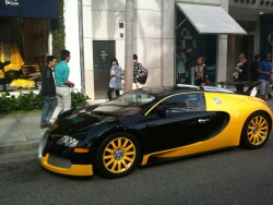 The only one in the world - each Bugatti Veyron is individual