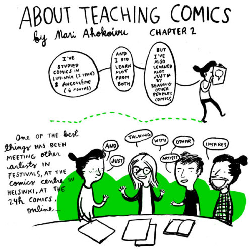 Another old about comics -comic (published in Drawing words writing pictures -blog http://dw-wp.com/2011/07/about-teaching-comics-2/)