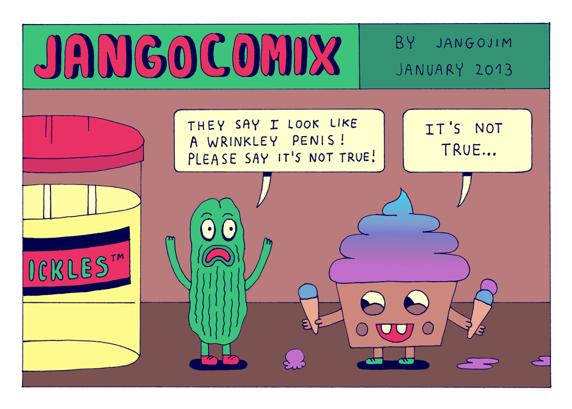 Fresh Jango Comix for an upcoming Jango Comix book. You can also follow them on Facebook