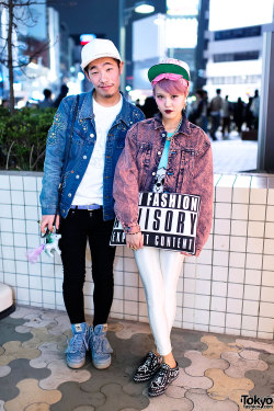 tokyo-fashion:  My Little Pony meets Jeremy Scott, Joyrich & MCM on the street in Harajuku.
