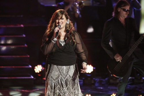 "Vote for Team Adam's Sarah Simmons! Online: www.nbc.com/the-voice/vote  Phone: 1-855-864-2309 iTunes: ""Mamma Knows Best"" http://bit.ly/16GiA5Y"
