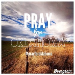 Sending prayers up for Oklahoma. Get on it folks! - - #prayforoklahoma #pray #oklahoma #hope #relief #alifeworthimitating photo cred: @kiwiboy