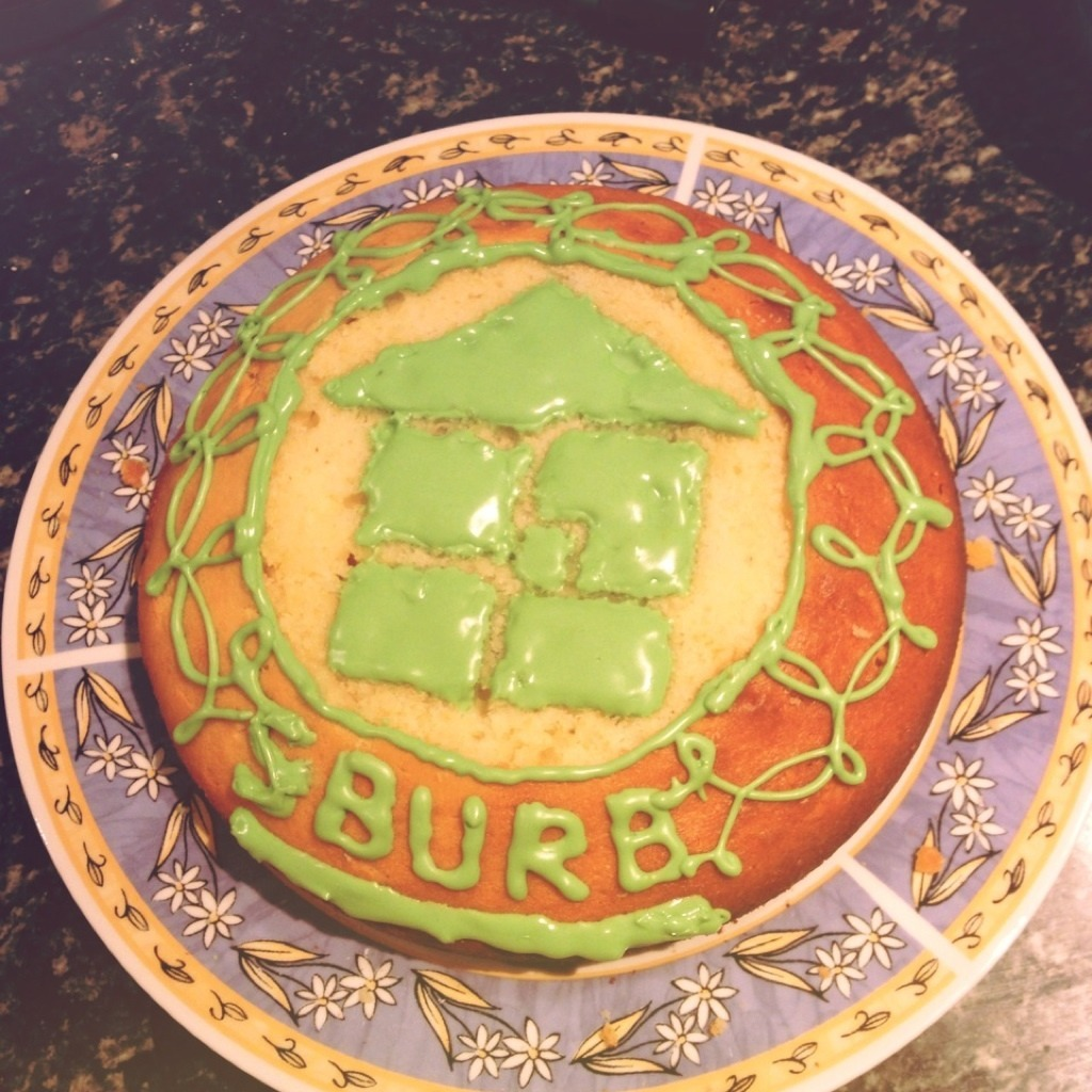 13/05/13 - 妹がオフ会のために作ったケーキ  The cake sis made for homestuck meet-up lol