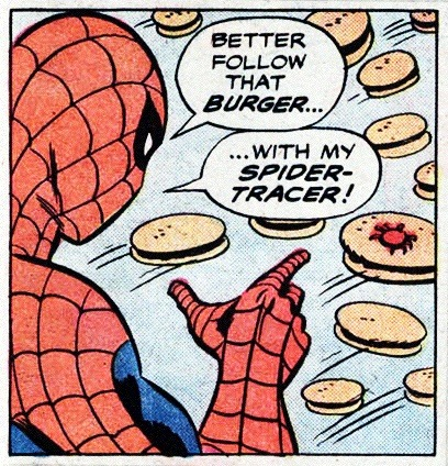 comicallyvintage:  Follow That Burger!