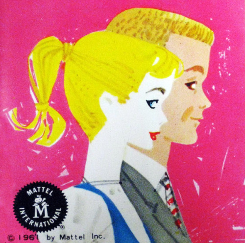 Barbie illustrated mini catalog, 1961