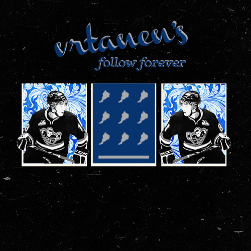 vrtanen:  In light of reaching 400 followers, it was finally time to update my follow forever. I've met so many amazing people during this time and made so many new friends and it's about time that all got mentioned in a post. Thank you to my amazing friend Hannah (tkrug) for the stunning graphic!! Just look at it, isn't it great? If I forgot anyone, I am so, so sorry. I follow a ton of people and it's easy to forget who's who, especially when half of you guys have changed your urls multiple times in the past couple of weeks. The Dude Squad  161andriverave, bachmaninovsky, christopherkreider, dairytrotz, daveedgamboa, edifying, mcandrefleury, nickyplayspiccolo, oh—careb, shades-of-blue-and-gold, theyslayedthedragon  True Homies  alex-wennbergs, brassyanddmoore, bring-the-schennergy, bruinsstrong, buffalove-5763, canukcs, carrotbazooka, christopher-james-kreider, colormeunsatisfied, danhammerhamhuis, dearbecky, dont-stepan-shit, elias-lindhomie, foulterritory, gentlebenn, geor7ge, girardahan, goallagher-galchenpuck, hockeyismyreligon, hotdadsofthenhl, kopitarus, lack31, lindbohm, lupeskog, marcel-goc, marcoscandella, meximari, miracle-ice-hockey, missingmountains, mother-puckers, nik-scherbaks, peripheralbeauties, phaneufz,pysyks, rnackinnon, rocktheredblueandgold, royal—blue, ryan-mcstunna, sabresinthetardis, samson-reinharts, sarawasilewski, savebytalbot, scoraceks, shermsalot, staalker, staalsie, supercallyfragilistic, swedishgoaliemafia, thatchdemko, tkrug, tuukkasass, verbitch, wickedpissahbruins  Too Cool for Me  14jamiebenn, allonsy-allonswin, backesexual, bbieksa, boston-strong-forever, brandon-proost, bruins-babe, buffalove-30, captainderekjeter, captainlinden, captainrask, claraoswalds, crashthecrease, delzotto, demkos, doctahhh, dont-puck-with-me, dutchene, ennis-the-menace, fezzingly, finnesotans, fratboysegs, fucale, futuresaad, gabelandesgod, goalbuster, go-back-to-ikea, hallberle, hatrickaner, hockeywashergame, impossiblekaren, jodrouin27, johnttavares