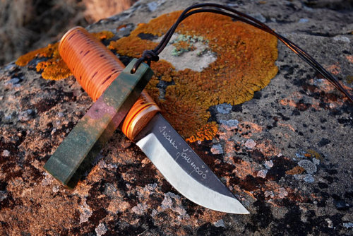 redhousecanada:  naturemetaltolkien: puukko and viking whetsone