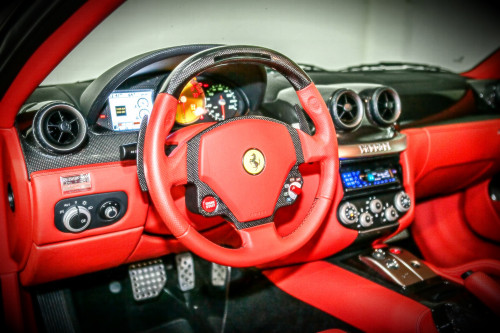2008 Ferrari 599 GTB cockpit view