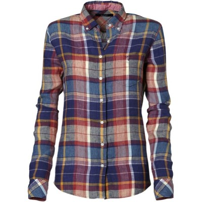 GANT top   ❤ liked on Polyvore (see more linen shirts)