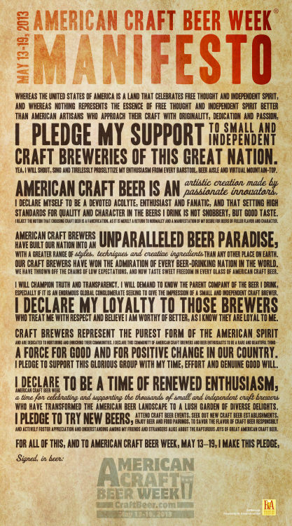 laymansbeer:  We pledge our support to small and independent craft breweries, do you? 2 sizes pdf download from Craftbeer.com (please pledge support responsibly)