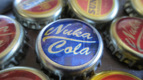 nizzu:  Fallout 3 New Vegas Custom Collectible Medtek Mentats Fixer Bottlecaps Caps