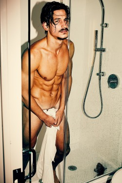 lallypopmagazine:  JARROD SCOTT shower by JOSEPH LALLY LALLY POP MAGAZINE