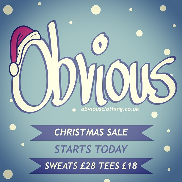 Christmas sale time - grab a bargain