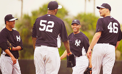 derekjeter-thecaptain:   Yankees Spring Training/2-13-13  Photos by John Munson