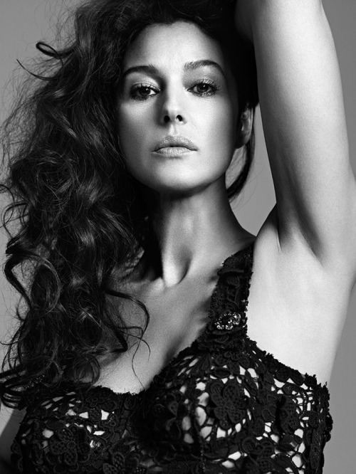 Zoo Magazine, Summer 2012 (+) photographer: Bryan Adams Monica Bellucci