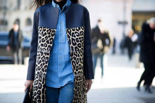 ivsmanifiesto:  Denim + leopard.  This outfit is screaming my name. I need to do a denim on denim.