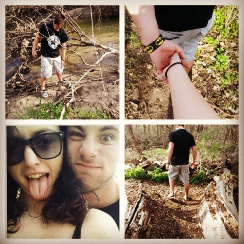 Adventure time with Dennis. #boyfriend #baby #batman #love
