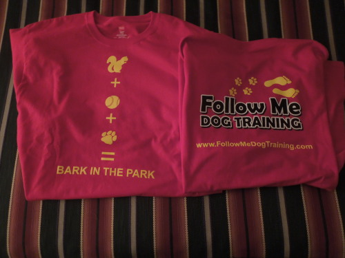13/5 Company t-shirts for Bark in the Park with the Richmond Flying Squirrels came in!!!