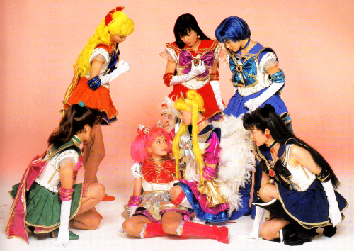 From the Sailor Stars musical program book. Scan from shiningmoon.
