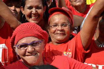 "http://rabble.ca/columnists/2013/05/venezuelas-new-labour-law-best-mothers-day-gift ""(New labour laws in Venezuela) …will grant recognition to non-salaried work traditionally done by women, will come into effect this week. Full-time mothers will now be able to collect a pension."""