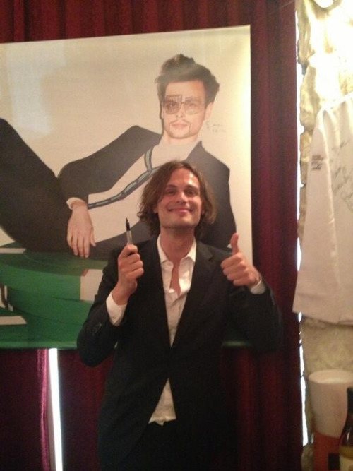 gublernews:   Matthew Gray Gubler at the Set Sail with Saks fashion show and dinner - 5/10/2013   Via AthenaRaeDeCocq
