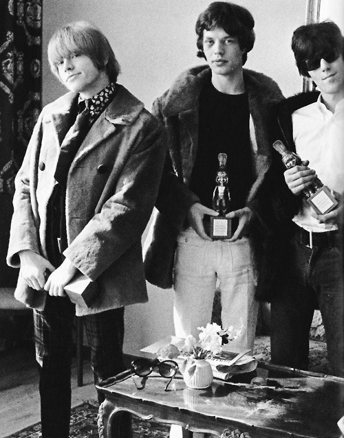 BRIAN JONES, MICK JAGGER et KEITH RICHARDS