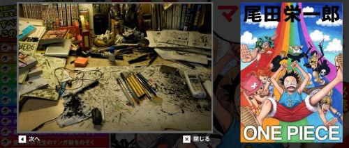 ikaros-campy:  A Look on some Manga Artist's Desk