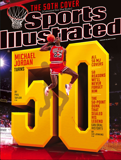 SInow: Your Cover This Week: Happy 50th Birthday Michael Jordan!