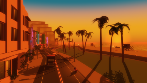 Some Vice City fan-art, don't know the source.
