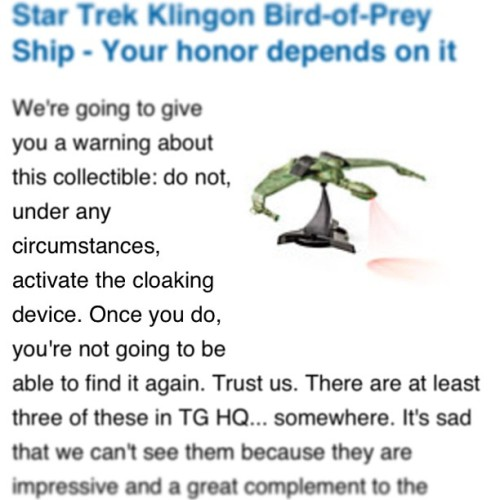 Reason #1,701 why I 💙 @thinkgeek.
