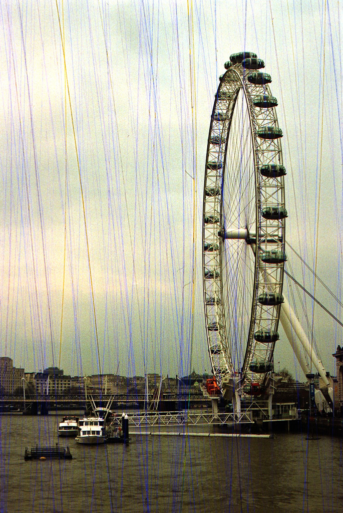London Eye, March 27th 2013 - Rasp film in Nikon F100
