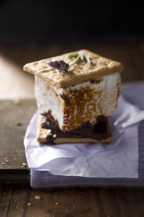 withherwindblownhair:  grayskymorning:  Adult S'mores » Salted and Styled  ✩