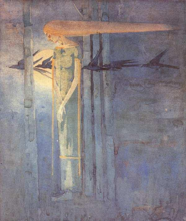 Frances MacDonald MacNair 'The Omen' 1893