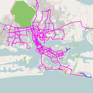 African Bus Routes Redrawn Using Cell-Phone Data | MIT Technology Review Researchers at IBM, using movement data collected from millions of cell-phone users in Ivory Coast in West Africa, have developed a new model for optimizing an urban transportation system.  The IBM model prescribed changes in bus routes around the around Abidjan, the nation's largest city. These changes—based on people's movements as discerned from cell-phone records—could, in theory, slash travel times 10 percent.