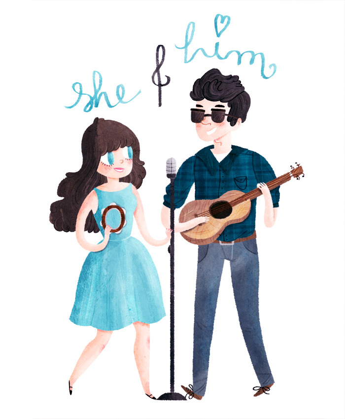 imnot12:  she & him new album is (as usual) the cutest thing EVER