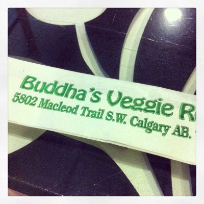 @meatlessmonday at buddha's veggie