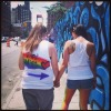 Nyc pride 2012 i asked her out while we were @adorablelesbiancouples