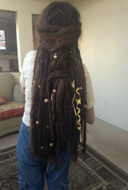 earthlyflowerchild:  Dreadies are shrinking