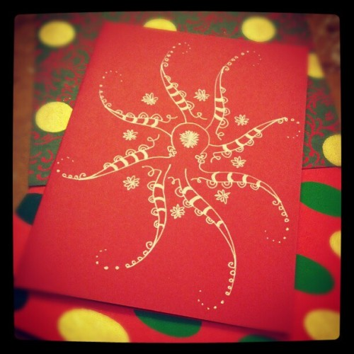 It's snowing octopi!